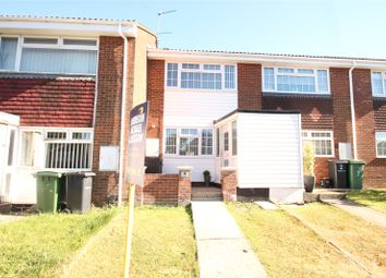 Thumbnail 2 bed terraced house for sale in Larchwood Close, Chatham, Kent
