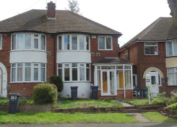 Thumbnail 3 bed semi-detached house to rent in Old Walsall Road, Great Barr