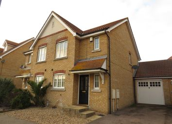 Thumbnail 3 bedroom semi-detached house to rent in Gravel Hill Way, Dovercourt, Harwich