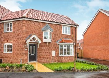Thumbnail 3 bed end terrace house for sale in Attleborough, Norfolk
