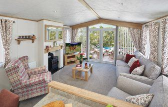 Thumbnail 3 bed lodge for sale in Hoburne Holiday Park, Blue Anchor Bay Rd, Minehead, Somerset