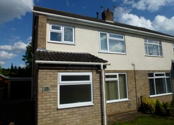 Thumbnail 3 bed semi-detached house to rent in Park View, Great Stukeley, Huntingdon