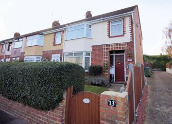 Thumbnail 3 bed end terrace house for sale in Coppins Grove, Fareham