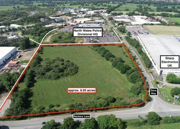 Thumbnail Land for sale in Llay Industrial Estate, Wrexham