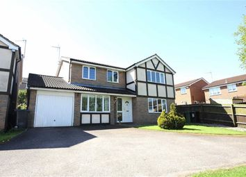Thumbnail 4 bed detached house for sale in Holcot Close, Wellingborough