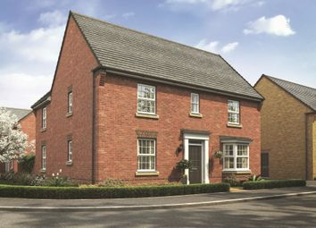 "Thumbnail 4 bedroom detached house for sale in ""Layton"" at Stoke Road, Poringland, Norwich"
