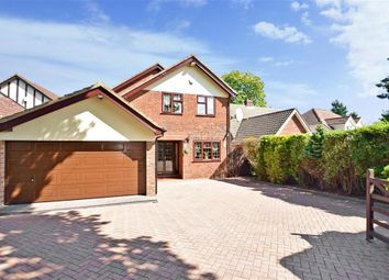 Thumbnail 4 bed detached house for sale in Robin Hood Lane, Bluebell Hill Village, Chatham, Kent