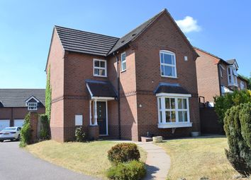 Thumbnail 3 bed detached house for sale in Deans Slade Drive, Lichfield