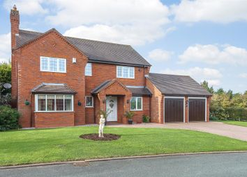 Thumbnail 4 bed detached house for sale in Hawcroft, Longdon Nr. Lichfield, Staffordshire