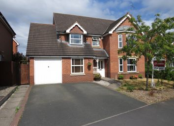 Thumbnail 4 bed detached house for sale in Drake Avenue, Penkridge, Stafford