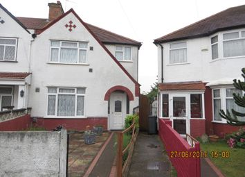 Thumbnail 4 bed semi-detached house for sale in Hinton Avenue, Hounslow, Middlesex