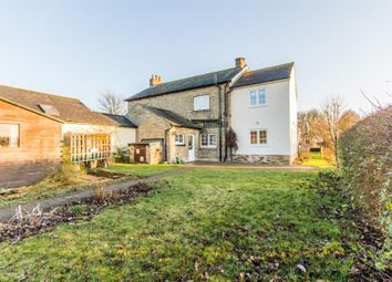 Thumbnail 3 bed semi-detached house for sale in The Kennels, Abbotsley Road, Croxton, St. Neots