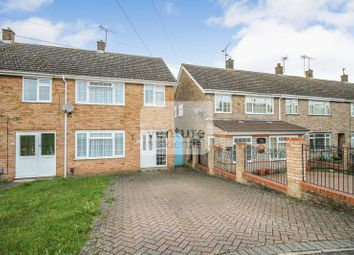 Thumbnail 3 bed end terrace house for sale in Marlin Road, Luton