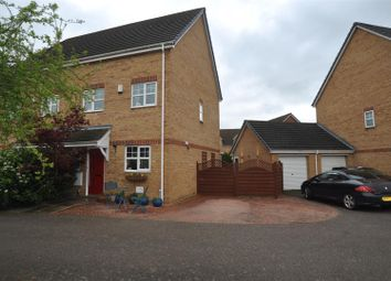 Thumbnail 3 bedroom property for sale in Station Close, Henlow
