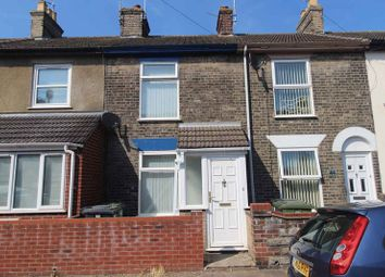 Thumbnail 2 bed terraced house for sale in Trafalgar Road West, Gorleston, Great Yarmouth