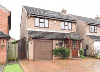 Thumbnail 3 bed detached house for sale in Silesbourne Close, Castle Bromwich, Birmingham