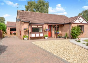 Thumbnail 3 bed detached bungalow for sale in Worcester Close, Lincoln