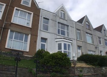 Thumbnail 3 bedroom flat to rent in Devon Terrace, Ffynone Road, Uplands, Swansea