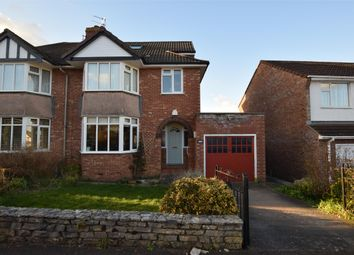 Thumbnail 4 bed semi-detached house for sale in Chandag Road, Keynsham, Bristol