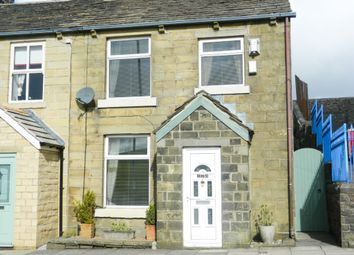 Thumbnail 3 bed end terrace house for sale in Todmorden Road, Sharneyford, Bacup, Rossendale