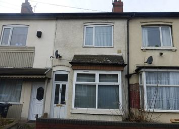 Thumbnail 3 bed terraced house to rent in Tame Road, Witton, Birmingham