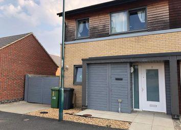 Thumbnail 2 bed semi-detached house for sale in Kiln Street, Hampton Vale, Peterborough, Peterborough