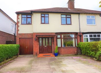 Thumbnail 4 bed semi-detached house for sale in Mill Lane, Stockport