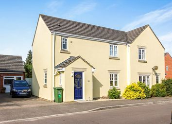 Thumbnail 3 bed semi-detached house for sale in Amberley Close, Calne