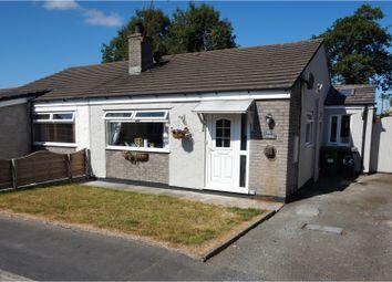 Thumbnail 3 bed semi-detached bungalow for sale in Gaerwen Uchaf Estate, Gaerwen