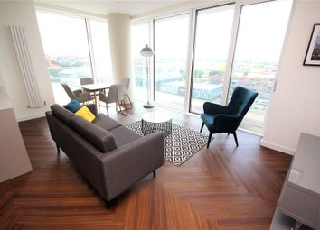 Thumbnail 3 bed flat to rent in The Lightbox, Blue, Media City UK, Salford, Greater Manchester