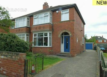 Thumbnail 3 bed semi-detached house for sale in Canterbury Road, Wheatley, Doncaster.