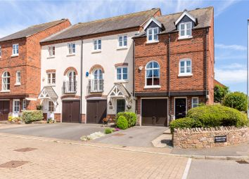 Thumbnail 3 bed town house for sale in Weavers Close, Quorn, Leicestershire