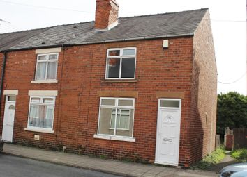 Thumbnail 2 bed end terrace house for sale in Hall Street, Mansfield