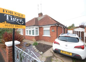 Thumbnail 2 bed semi-detached bungalow for sale in Stockydale Road, Blackpool, Lancashire