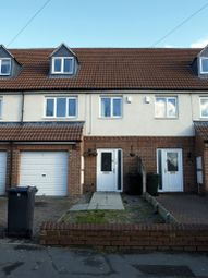 Thumbnail 4 bed terraced house to rent in Manor Road, Askern, Doncaster