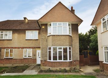 Thumbnail 2 bedroom flat for sale in Chestnut Court, Chestnut Avenue, Wembley, Middlesex