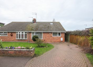Thumbnail 3 bed semi-detached bungalow for sale in St. Hilda Road, Caister-On-Sea, Great Yarmouth