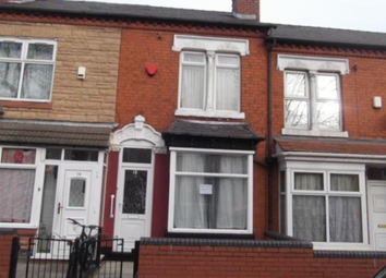 Thumbnail 3 bed terraced house to rent in Greenhill Road, Handsworth, Birmingham