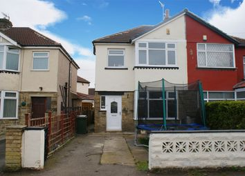 Thumbnail 3 bed semi-detached house for sale in Hallows Road, Stockbridge, Keighley, West Yorkshire