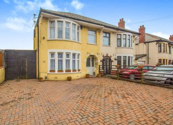 Thumbnail 3 bed semi-detached house for sale in Newport Road, Rumney, Cardiff