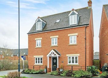 Thumbnail 5 bed detached house for sale in Voyager Drive, Swindon, Wiltshire