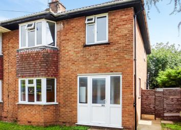 Thumbnail 3 bedroom semi-detached house for sale in The Hawks, Wisbech Road, March, Cambridgeshire