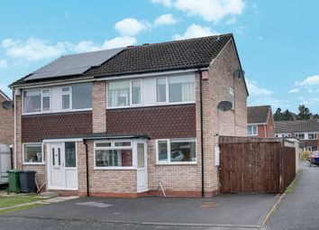 Thumbnail 3 bedroom semi-detached house for sale in Kenchester Close, Matchborough East, Redditch
