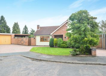 Thumbnail 4 bed detached bungalow for sale in Springfield Close, Kibworth, Leicester