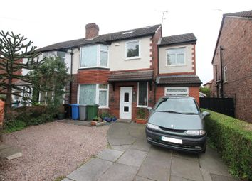 Thumbnail 5 bed semi-detached house for sale in Cornhill Road, Urmston, Manchester