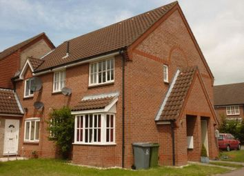 Thumbnail 1 bed end terrace house to rent in Radcliffe Road, Drayton, Norwich