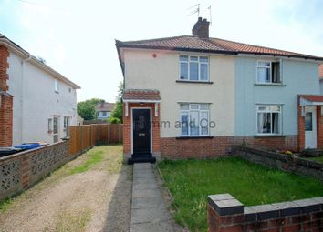 Thumbnail 3 bedroom semi-detached house for sale in Aldryche Road, Norwich