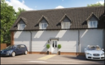 Thumbnail 2 bed flat for sale in Silfield Road, Wymondham