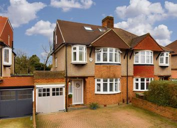 4 bed semi-detached house for sale in Ewell Park Way, Epsom, Surrey KT17
