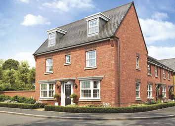 "Thumbnail 4 bed detached house for sale in ""Hertford"" at Broughton Crossing, Broughton, Aylesbury"